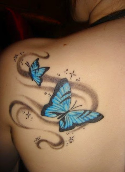89 @ Butterfly Tattoos