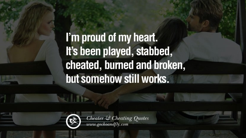 92 @ Cheating Quotes and Quotations
