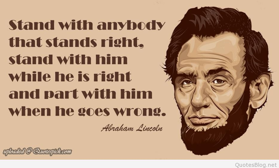 95 @ Abraham Lincoln Quotes and Quotations