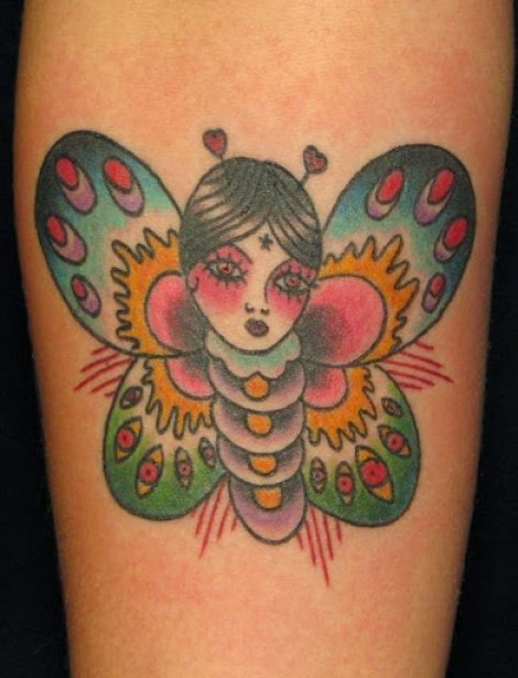95 @ Butterfly Tattoo Sexy