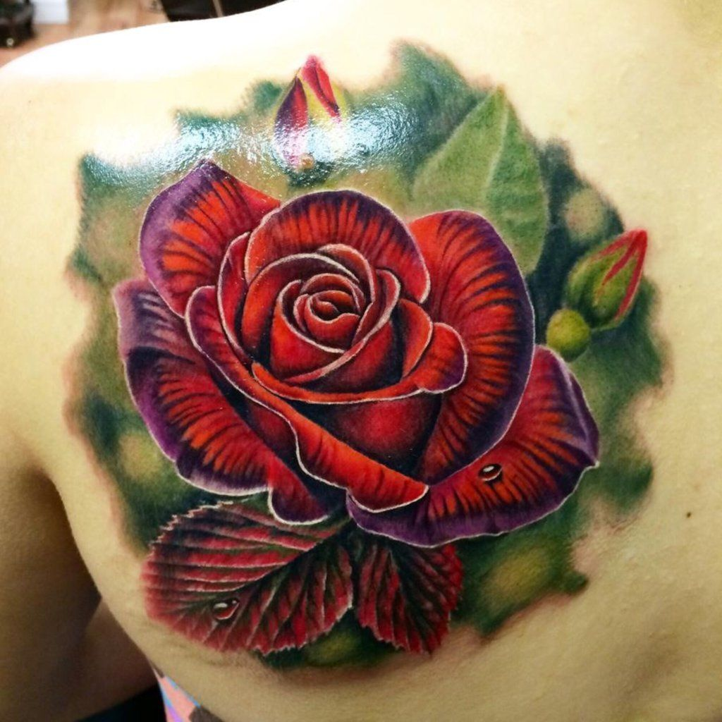 @ Rose Tattoos Sexiest