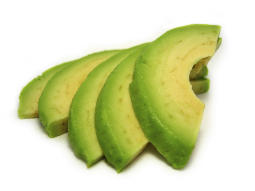 Avocado slices @ Healthy Food For Baby