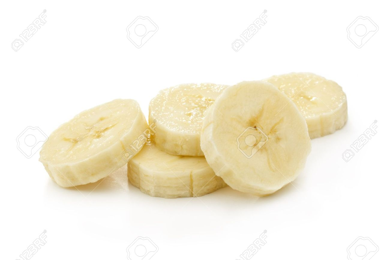 Banana slices @ Healthy Food For Baby