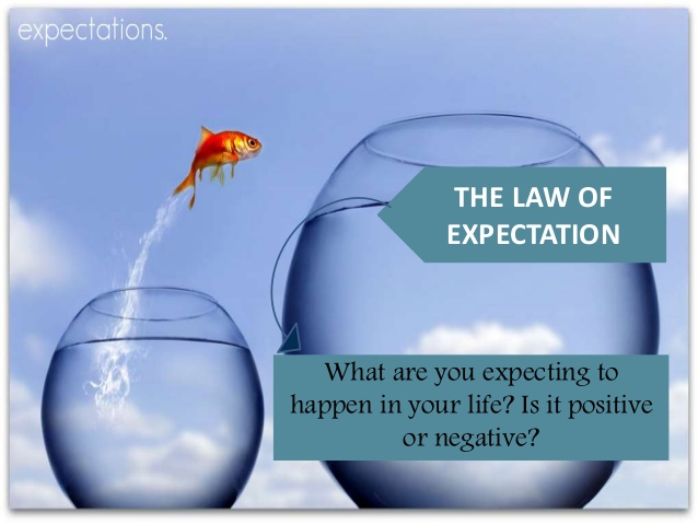 Best Universal Laws Quotes About Expectation