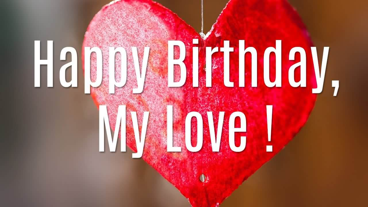 Cute Happy Birthday Picture For Lover