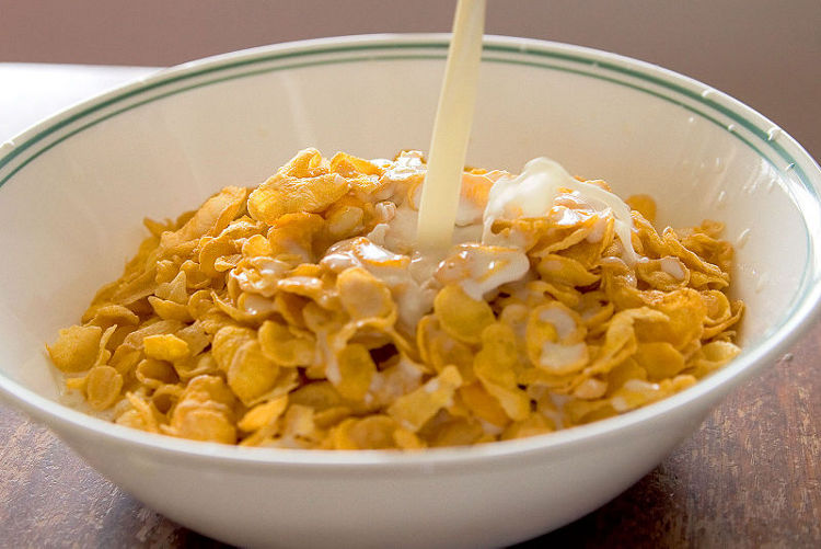 Fortified cereals @ Healthy Food For Bones