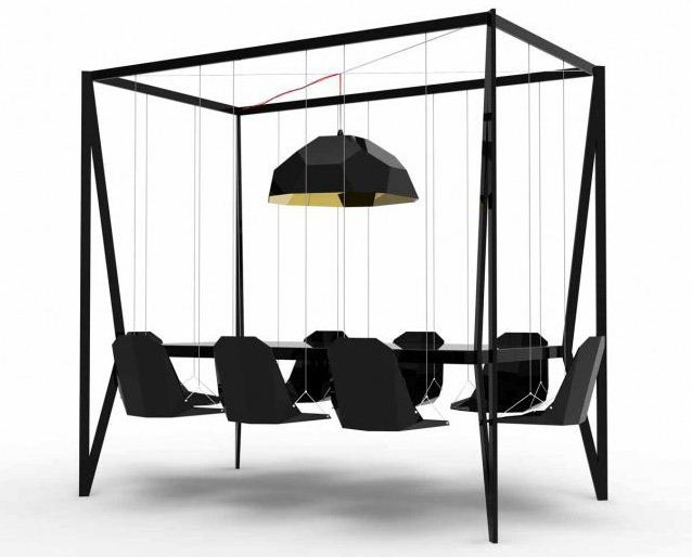 Hanging Dining Table