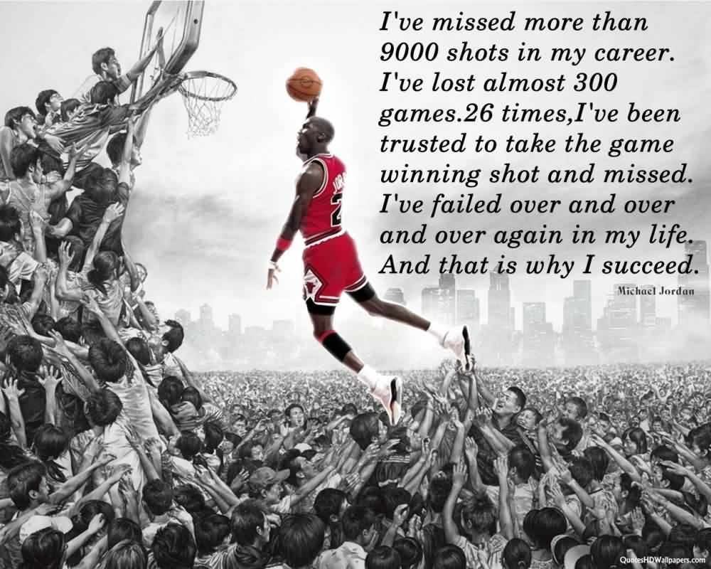 Inspirational Sports Quotes By Michael Jordan