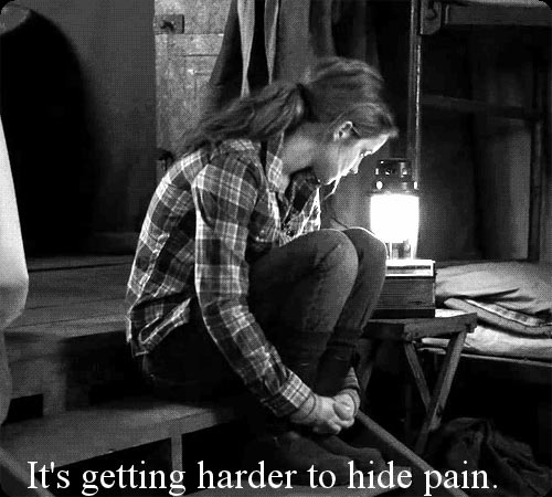 It's getting harder to hide pain