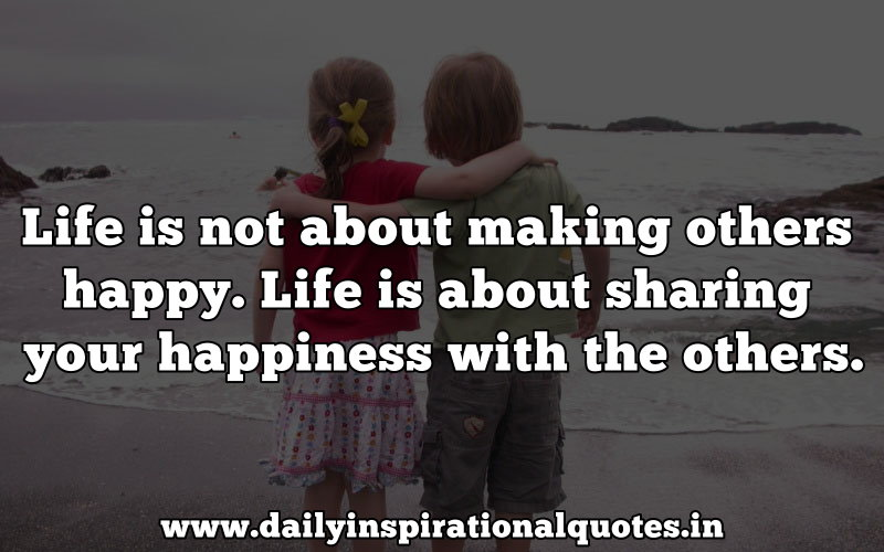 Life Is Not About Making Others Happy