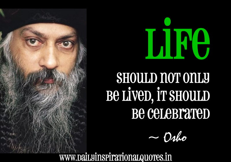 Life Should Not Only Lived