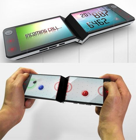 Mobile Gadget With Bend