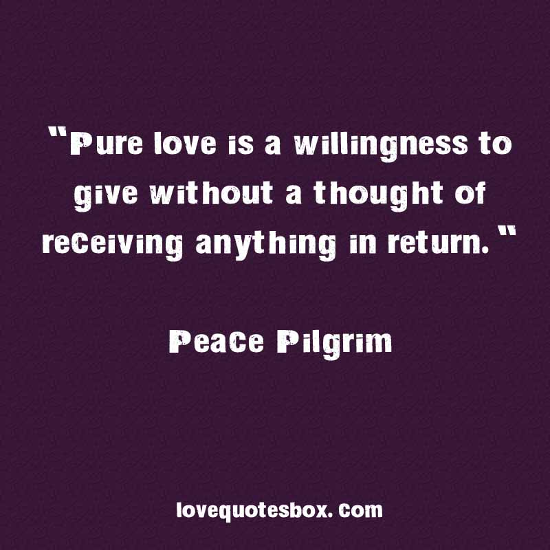 Pure Love Quotes 08