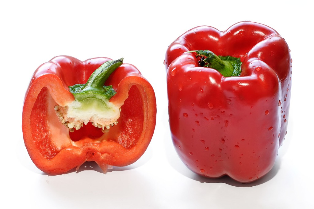 Red bell peppers @ Healthy Food For Kidney