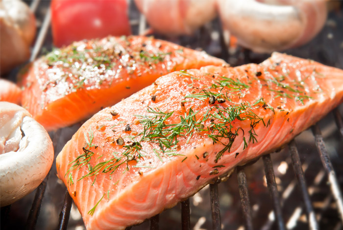 Salmon @ Healthy Food For Bones