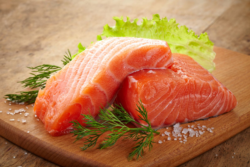 Salmon @ Healthy Food For Pregnancy