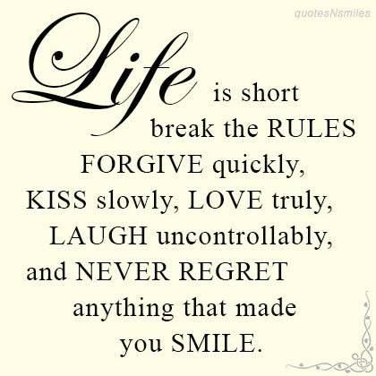 Short Life Quotes #21