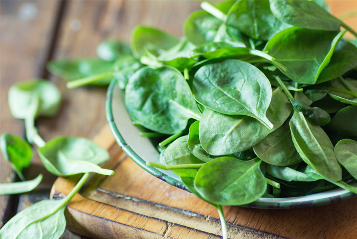 Spinach @ Healthy Food For Bones