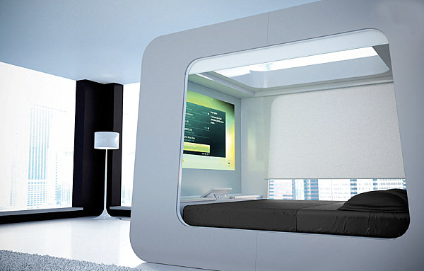 Touch Screen Box Bed