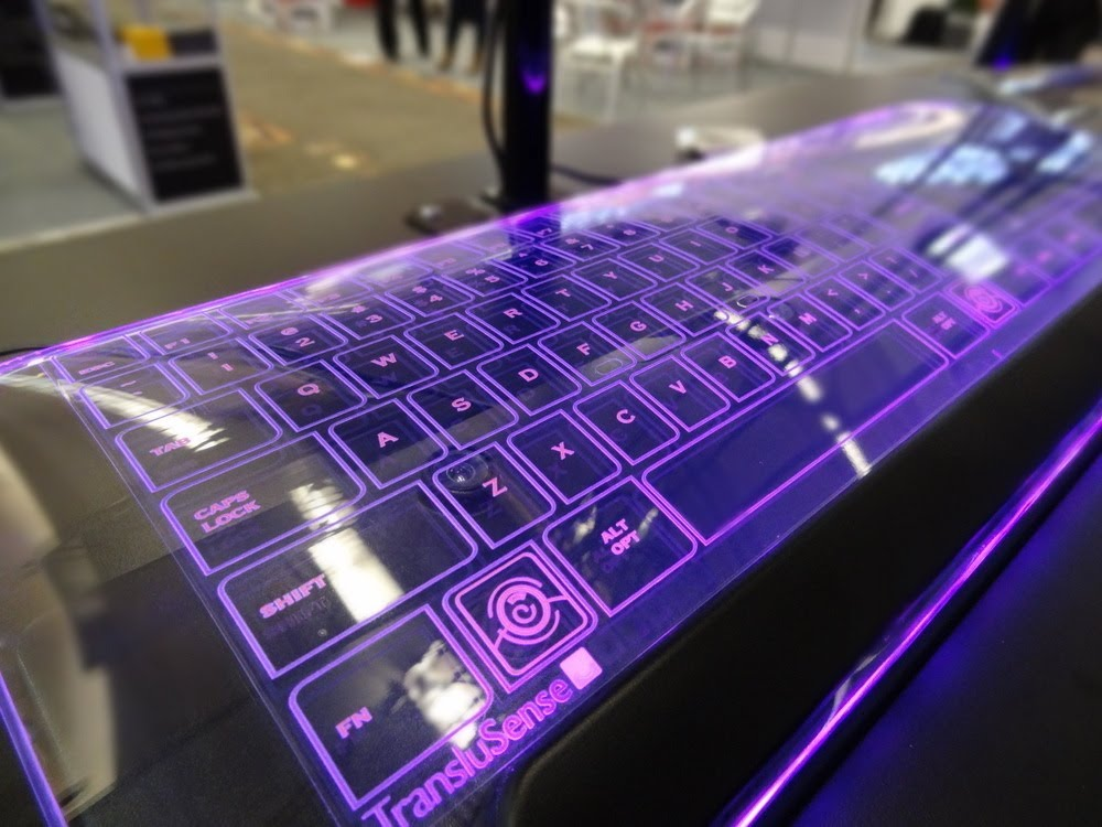 UV Light Keyboard Gadget