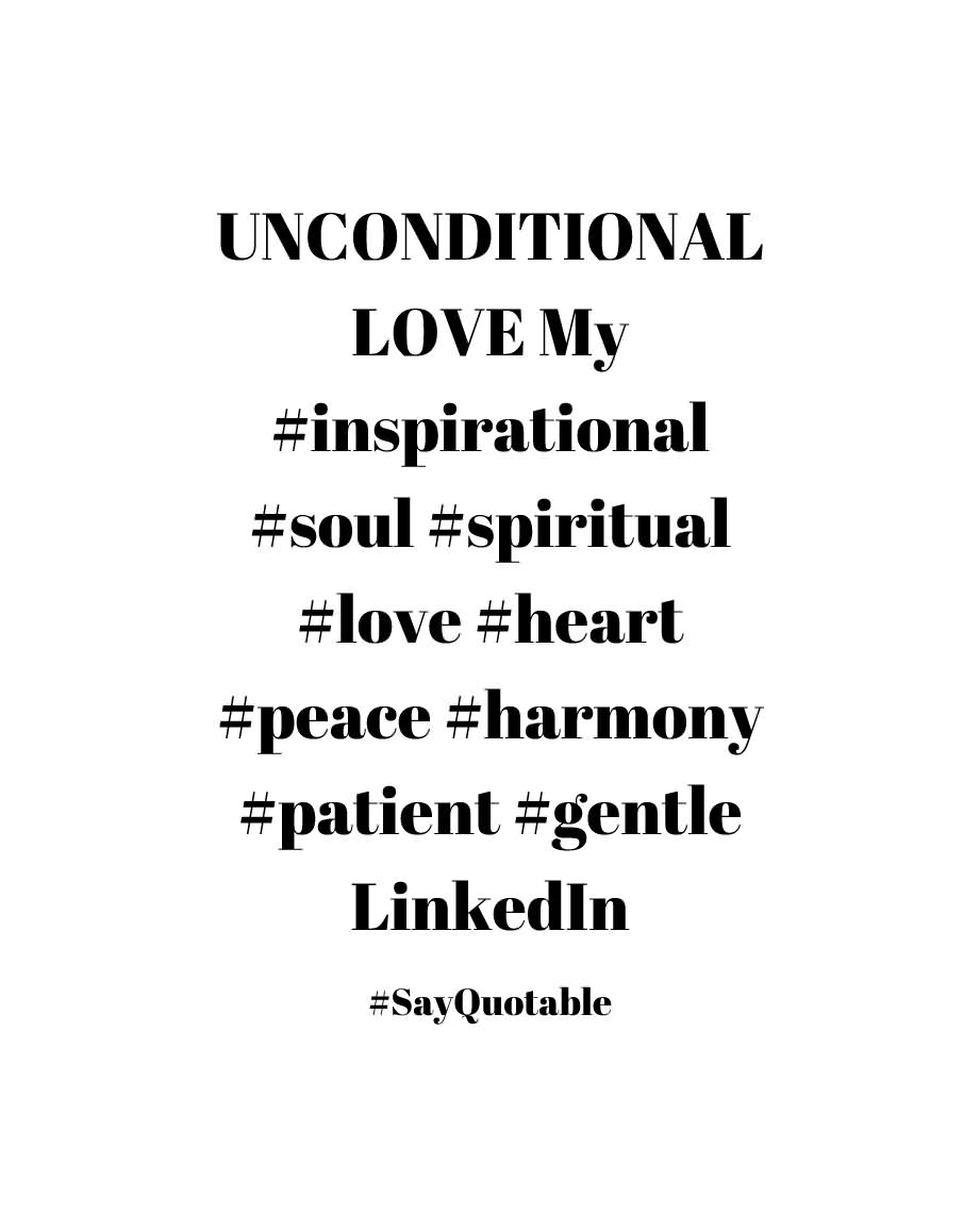 Unconditional Love Quotes 25