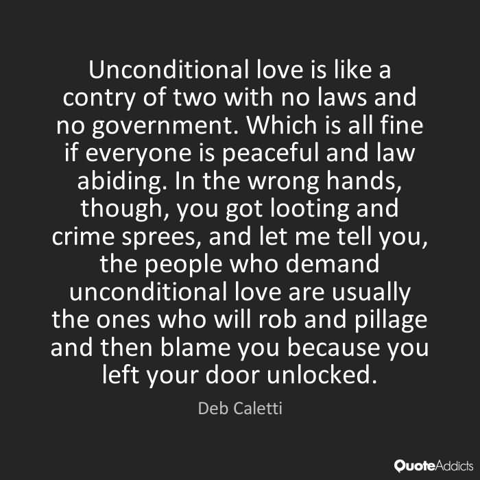 Unconditional Love Quotes 27