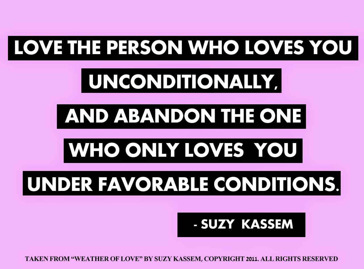Unconditional Love Quotes 39