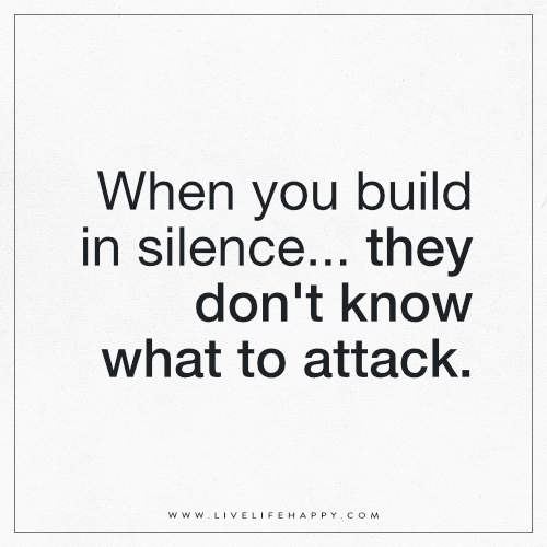 When you build in silence… they don't know what to attack