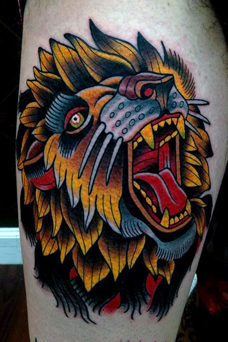 Amazing Lion Tattoos