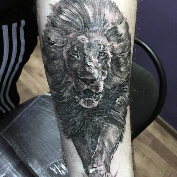 Awesome Lion Tattoo