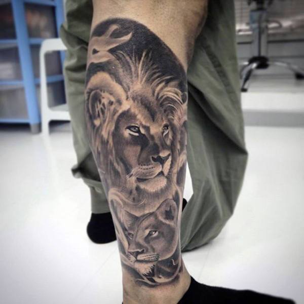 70 Best Lion Tattoos