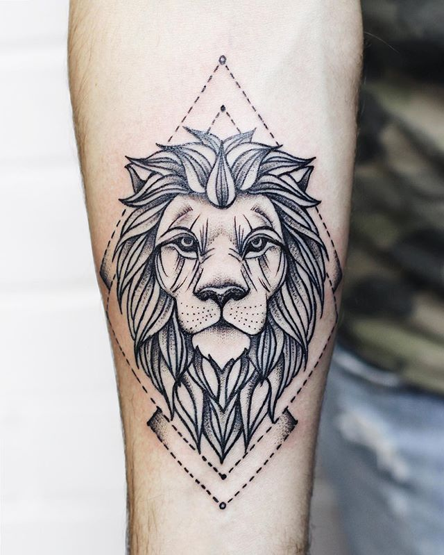 Brilliant Lion Tattoo