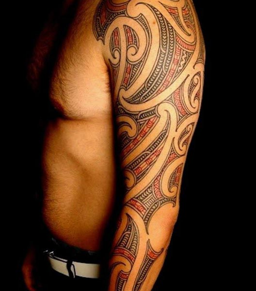 59 extraordinary tribal tattoos designs that symbolize strength. Black Bedroom Furniture Sets. Home Design Ideas