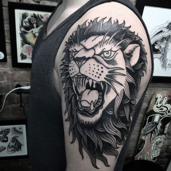 Fantastic Lion Tattoos