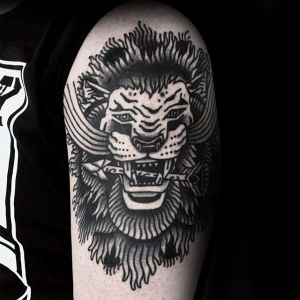 Nice Lion Tattoos