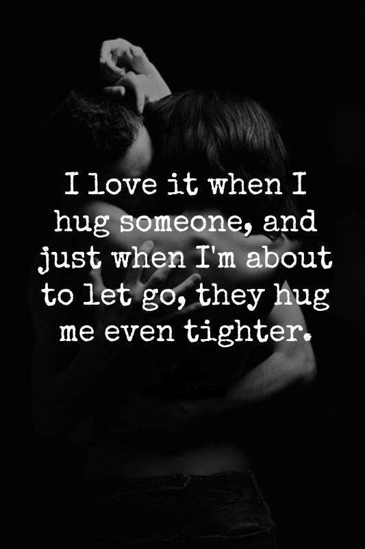 55 Famous Hugging Quotes And Sayings About Tight Hug
