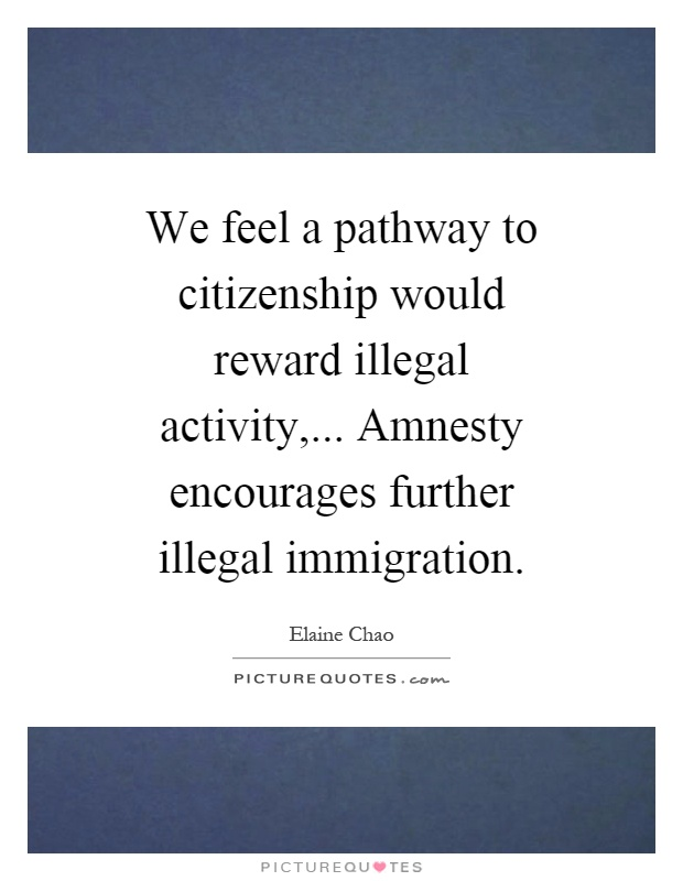 amnesty and the illegal immigration problem essay Rising levels of illegal immigration [led to] the immigration reform and control act of 1986 (irca) it provided amnesty for 3 million illegal immigrants, in return for increased border security and penalties for companies knowingly hiring illegal immigrants aside from creating the h-2a visa for.