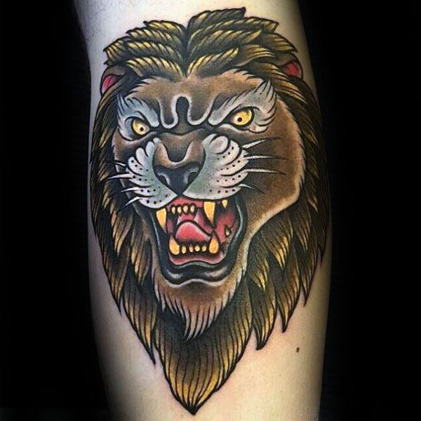 Superb Lion Tattoos
