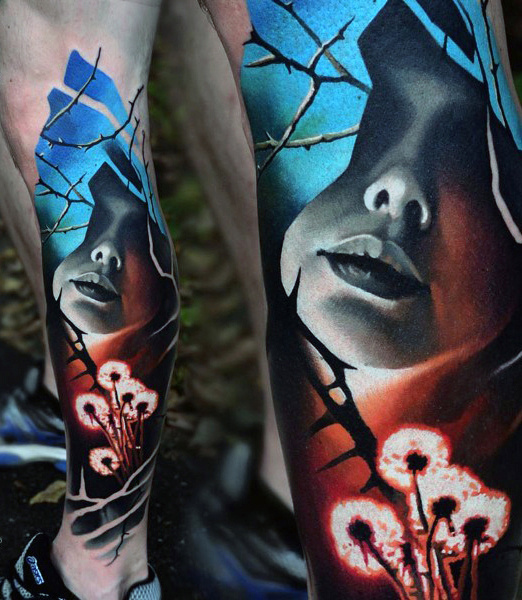 Amazing Abstract Tattoos