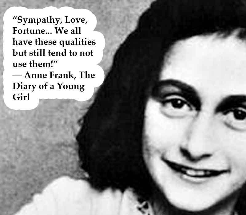 Amazing Anne Frank Quotation