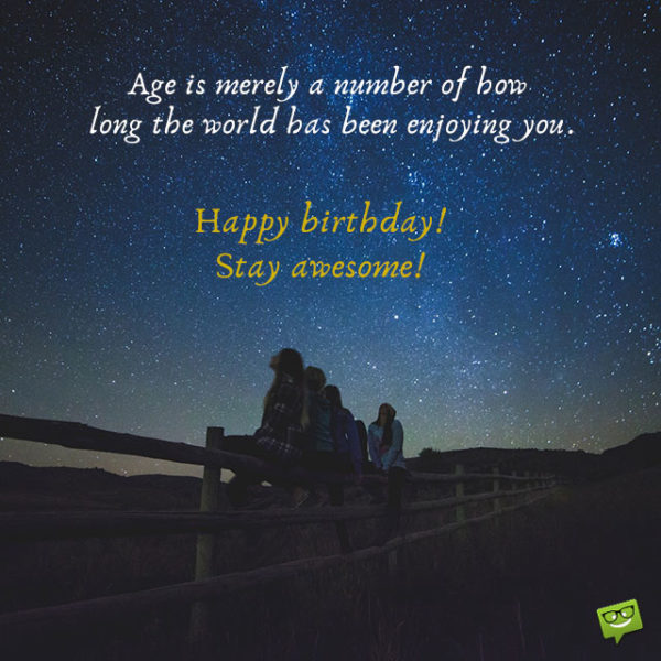 Amazing Birthday Wishes