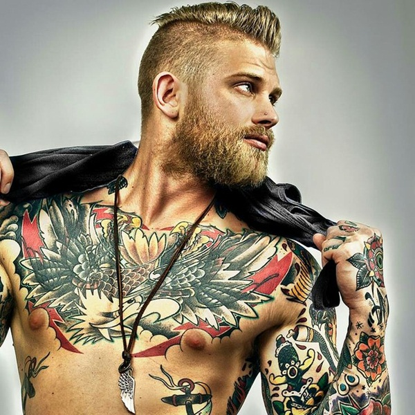 Amazing Chest Tattoos