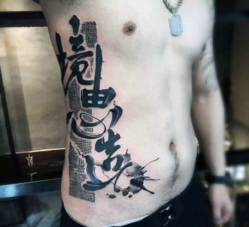 Amazing Chinese Tattoos Designs