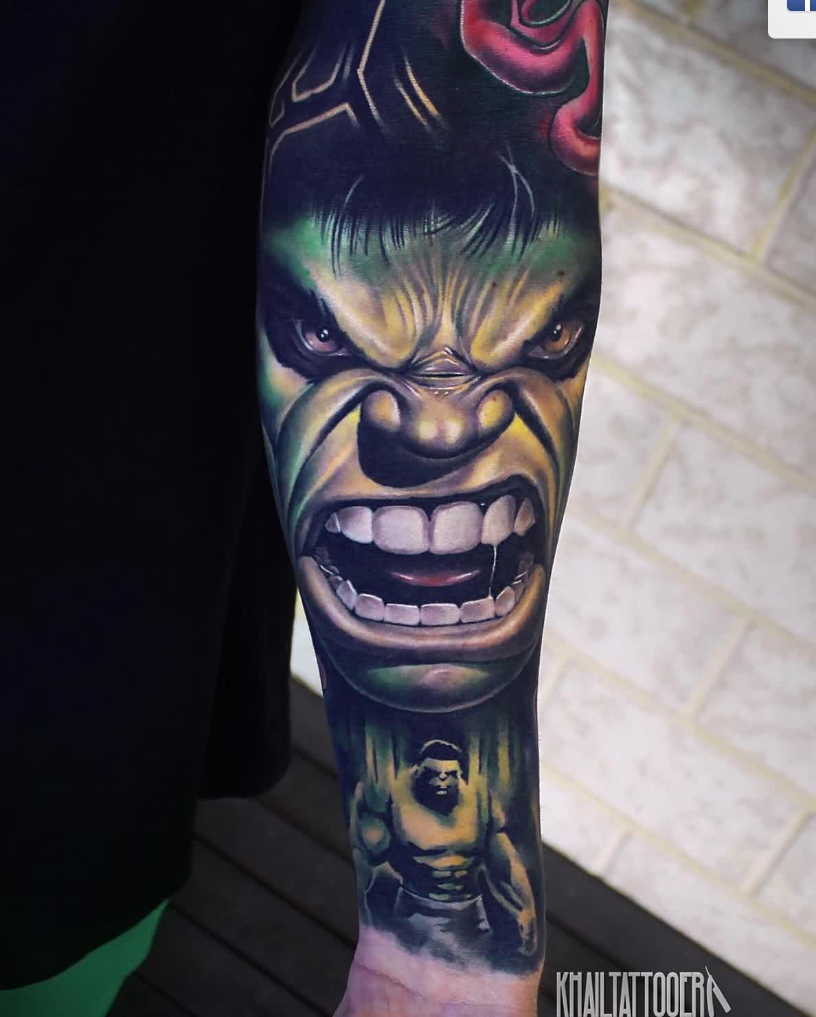 Amazing Comic Tattoos