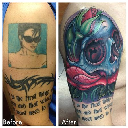 Amazing Cover Up Tattoos Designs