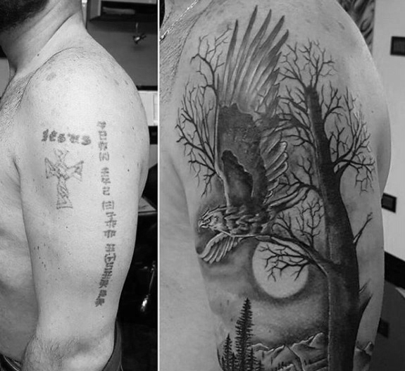 Amazing Cover Up Tattoos