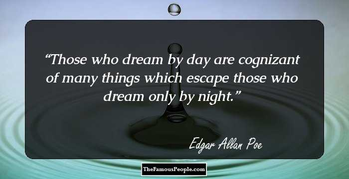 Amazing Edgar Allan Quotation and Sayings