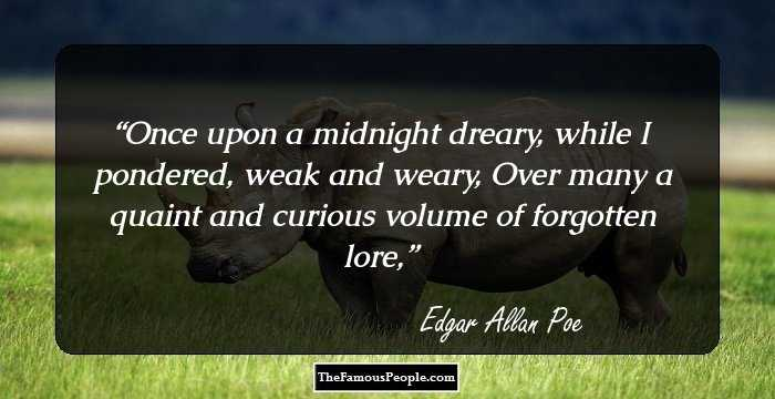Amazing Edgar Allan Quotations and Sayings