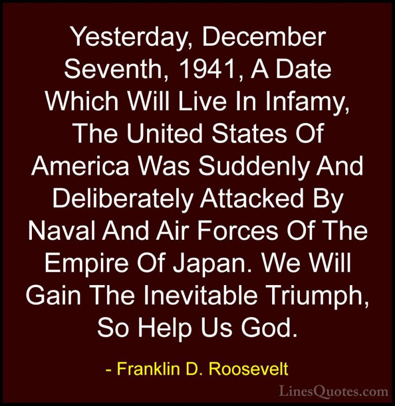 Amazing Franklin D Roosevelt Quotes