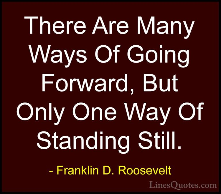 Amazing Franklin D Roosevelt Sayings